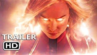 CAPTAIN MARVEL Official Trailer (2019) Superheroes Movie