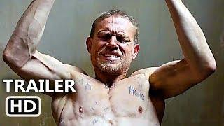 PAPILLON Official Trailer (2018) Charlie Hunnam, Rami Malek Prison Movie HD