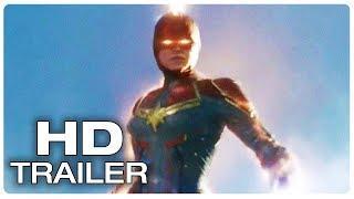 CAPTAIN MARVEL Is Thanos Worst Nightmare Trailer (NEW 2019) Marvel Superhero Movie HD