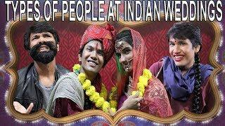 TYPES OF PEOPLE AT INDIAN WEDDINGS | COMEDY VIDEO || MOHAK MEET || PANKHI