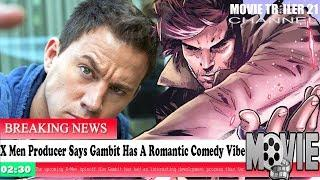 Gambit Movie News!!! X Men Producer Says Gambit Has A Romantic Comedy Vibe