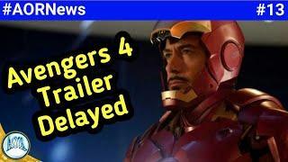 Avengers 4 trailer delayed,   Marvel new SuperHero movie, killmonger origin comic book || AORNews13