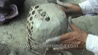 Drawing from epics, mythology and folk tales, mask-making in Assam continues