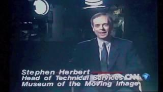 CNN, cinema centenary 1995. First screenings. MOMI London.