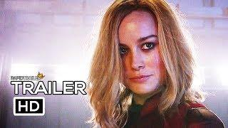 CAPTAIN MARVEL Super Bowl Trailer (2019) Marvel, Superhero Movie HD