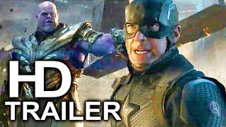 AVENGERS 4 ENDGAME Thanos Vs Captain America Fight Trailer NEW (2019) Marvel Superhero Movie HD