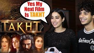 Jhanvi Kapoor Next Film Takht With Ranveer Singh, Kareena Kapoor & Alia Bhatt