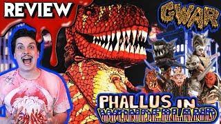 GWAR:  PHALLUS IN WONDERLAND (1992) ????  Horror Comedy Movie Review