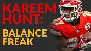 Kareem Hunt Is An Unlikely Fantasy Football Star Whose Balance Makes Up For Other Qualities On Film