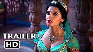 """ALADDIN """"Magic Carpet Ride"""" Clip Trailer (NEW 2019) Will Smith, Disney Movie HD"""