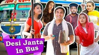 Types of People in Desi Bus - Part 2 | Lalit Shokeen Films |