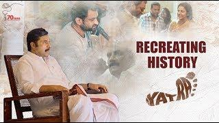 Yatra Movie Making | Recreating History | YSR Biopic | Mammootty | Jagapathi Babu | Mahi V Raghav