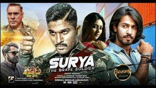 Surya The Brave Soldier (2018) New Released Hindi Dubbed Full Movie| Allu Arjun, Anu Emmanuel