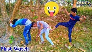Must Watch New Funny????????Comedy Video 2019 || Episode 54 || Try ✔️Not To Laugh by Desi Fun | Desi