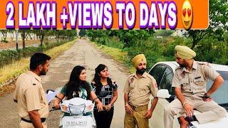 Police Naka - Official Video   Happy Jeet Pencher Wala   Latest Punjabi Comedy 2018