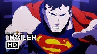 THE DEATH OF SUPERMAN Official Trailer (2018) Animated Superhero Movie HD