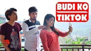 Budi Ko TikTok|Buda Vs Budi | Nepali Comedy Short Film| SNS Entertainment