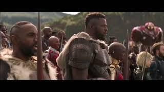 AVENGERS INFINITY WAR Thor Arrives In Wakanda Fight Scene + Trailer 2018 Superhero Movie HD