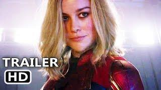CAPTAIN MARVEL Super Bowl Trailer (NEW 2019) Marvel Movie HD