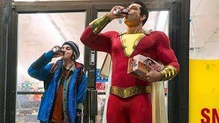 First Official Shazam Picture Shows Levi In Costume