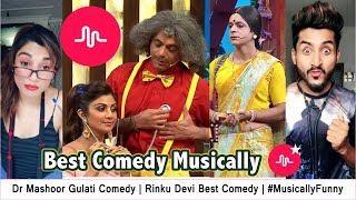 Dr Mashoor Gulati Comedy | Rinku Devi Best Comedy | #MusicallyFunny