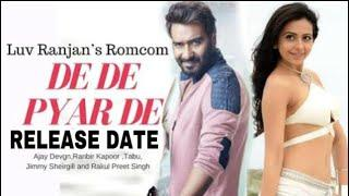 Ajay Devgn Upcoming Romantic Comedy Movie, De De Pyar De Release Date, Ajay Devgn, Rakul Preet, Tabu