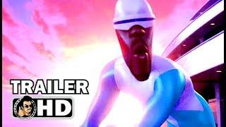 "THE INCREDIBLES 2 ""Super Villains"" Extended TV Spot Trailer (2018) Pixar Disney Superhero Movie HD"
