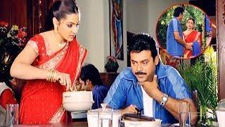 Aarthi Agarwal And Venkatesh Best Comedy Scene | Telugu Movie Scenes | Silver Screen Movies