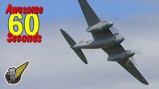 60 Seconds Of Awesome: DH.96 Mosquito Fighter Bomber