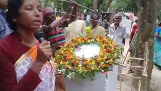 Historical Indigenous Santal Revolution Day Observed 30th June 2018 at Dinajpur of Video Documentary