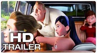 INCREDIBLES 2 New House Tour Trailer (NEW 2018) Superhero Movie HD
