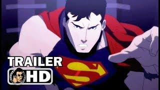 THE DEATH OF SUPERMAN Official Trailer (2018) DC Superhero Animated Movie HD