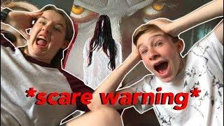REACTING TO SCARY HORROR MOVIE TRAILERS!