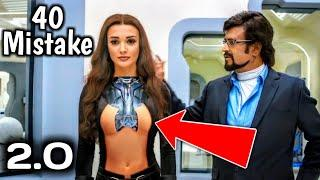 2.0 (40 Mistake) Rajinikanth | Akshay Kumar | A R Rahman | Full Hindi Movie | Robot 2.0