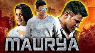 Maurya (2019) New Kannada Hindi Dubbed Full Movie | Puneeth Rajkumar, Meera Jasmine, Roja