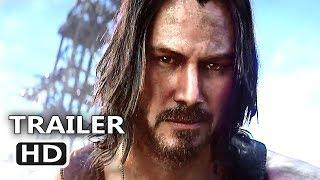CYBERPUNK 2077 Official Trailer (2020) Keanu Reeves Game HD