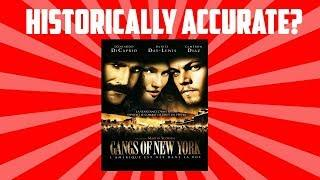 Historical Inaccuracies of Gangs of New York