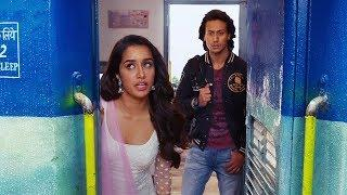 Baaghi Movie Best Train Scene - Comedy Scene - Tiger Shroff - Shraddha Kapoor - Sunil