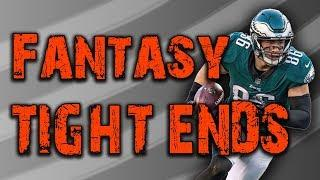 The Best Fantasy Tight Ends for 2018