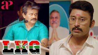 Latest Tamil Comedy 2019 | LKG Tamil Movie Scenes | Public get angry at JK Rithesh | RJ Balaji
