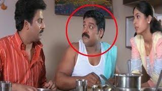 Srihari Funny Eating Comedy Scene | Telugu Funny Videos | Silver Screen Movies