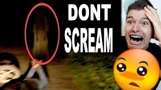 DON'T SCREAM CHALLENGE! (SCARY)