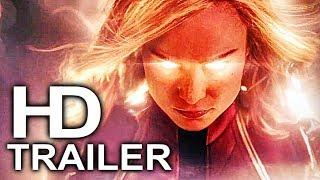 CAPTAIN MARVEL Trailer #1 NEW (2018) Superhero Movie HD