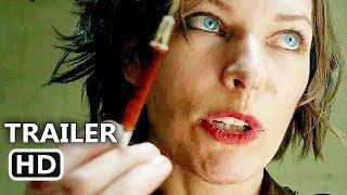 FUTURE WORLD Trailer # 2 (2018) James Franco, Milla Jovovich, MAD MAX like Movie HD