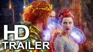 AQUAMAN Welcome To Atlantis Scene Clip + Trailer NEW (2018) Superhero Movie HD
