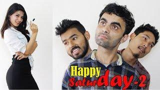 COLLEGE TIME | Happy Saturday | Episode 2 | New Nepali Short Comedy Movie May 2018 | Colleges Nepal