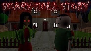 SCARY DOLL STORY || ANIMATED IN HINDI || MAKE JOKE HORROR