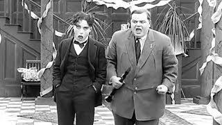 Charlie Chaplin & Roscoe Arbuckle (Fatty) - Tango Tangles (1914) Full Film HD