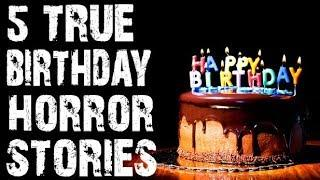 [GIVEAWAY] 5 TRUE Creepy & Disturbing Birthday Horror Stories to Terrify You! | (Scary Stories)