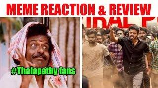 Oru  Viral Puratchi Song  Sarkar Reaction & Review || AR Rahman || Thalapathy Vijay || AR Murugadoss